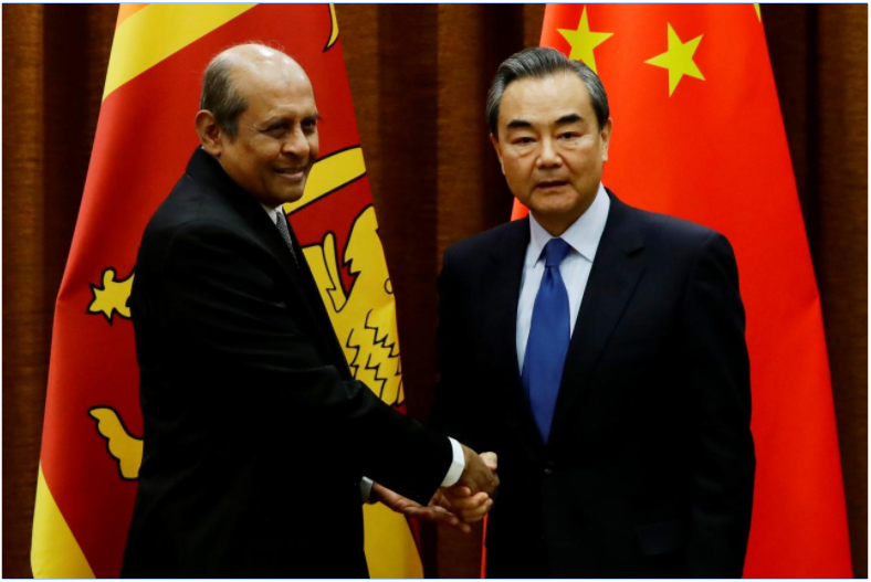 China urges closer cooperation with Sri Lanka on key projects