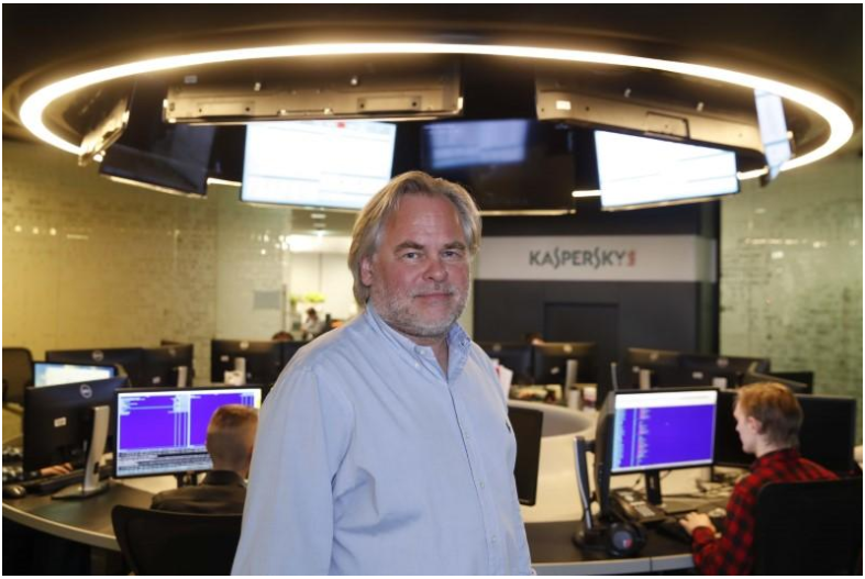 Kaspersky CEO says hack claims cutting U.S. cyber security sales