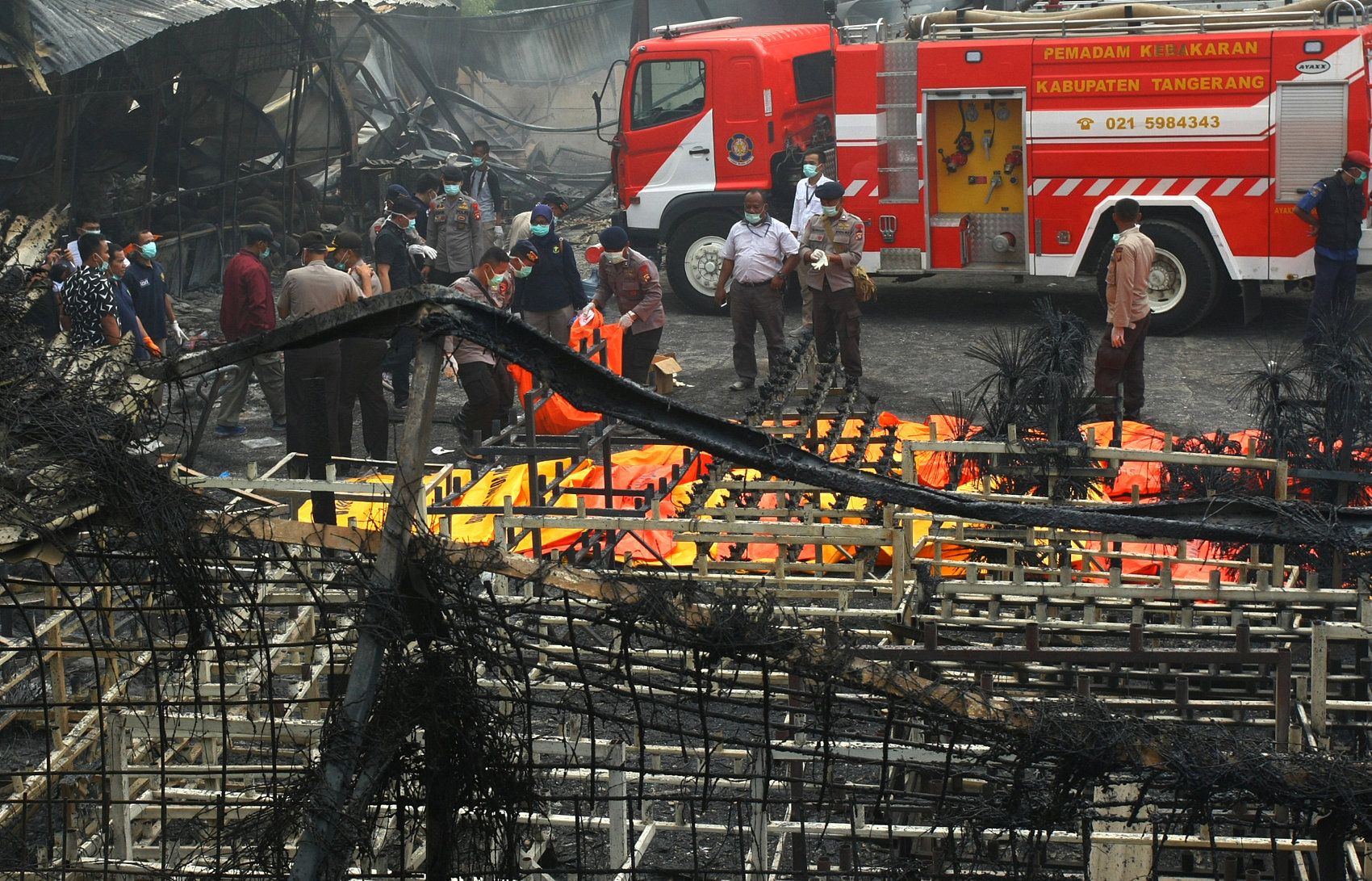 Death toll from fireworks factory fire in Indonesia rises to 47, 46 injured