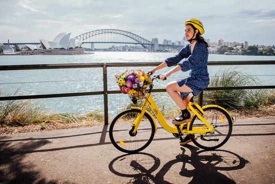 China's bike-share company Ofo rolls into Sydney