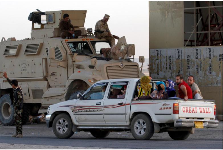 100,000 Kurds flee Kirkuk since Iraqi army takeover: Kurdish officials