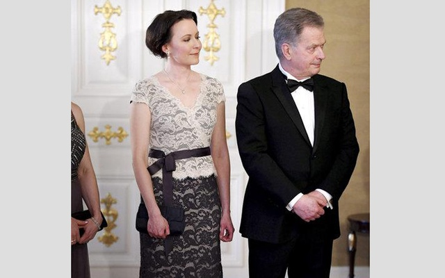 Finland's president and wife expecting baby