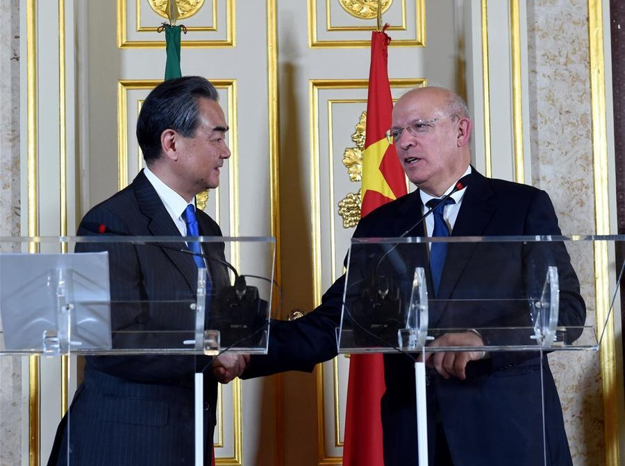 Chinese FM: China, Portugal important partners in building Belt and Road