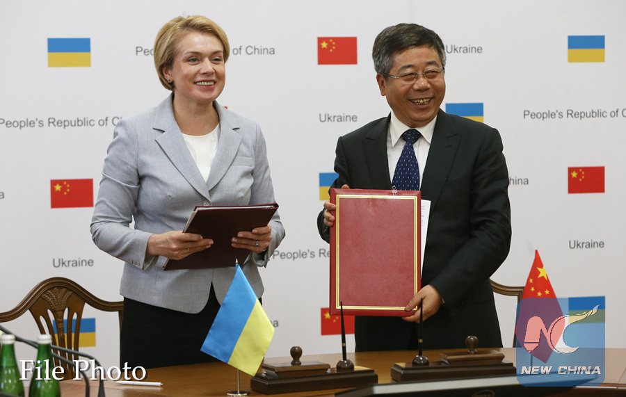 Ukrainian minister hails China-Ukraine cooperation in science, education