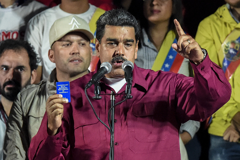 Maduro wins Venezuela's presidential election, calls for dialogue with opposition