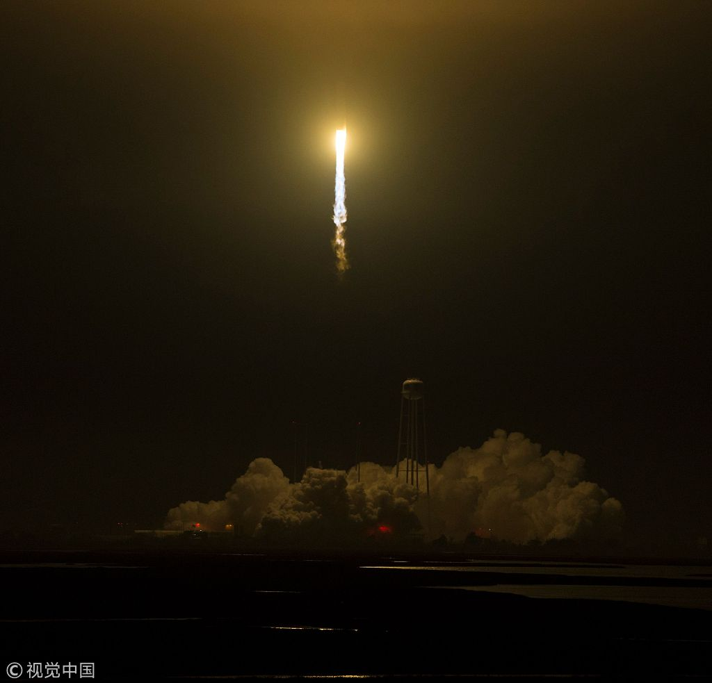 Orbital ATK Launches Ninth Cargo Delivery Mission to the International Space Station for NASA