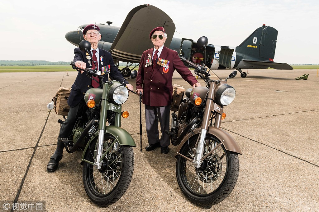 New motorcycle pays tribute to Flying Flea used by British paratroopers