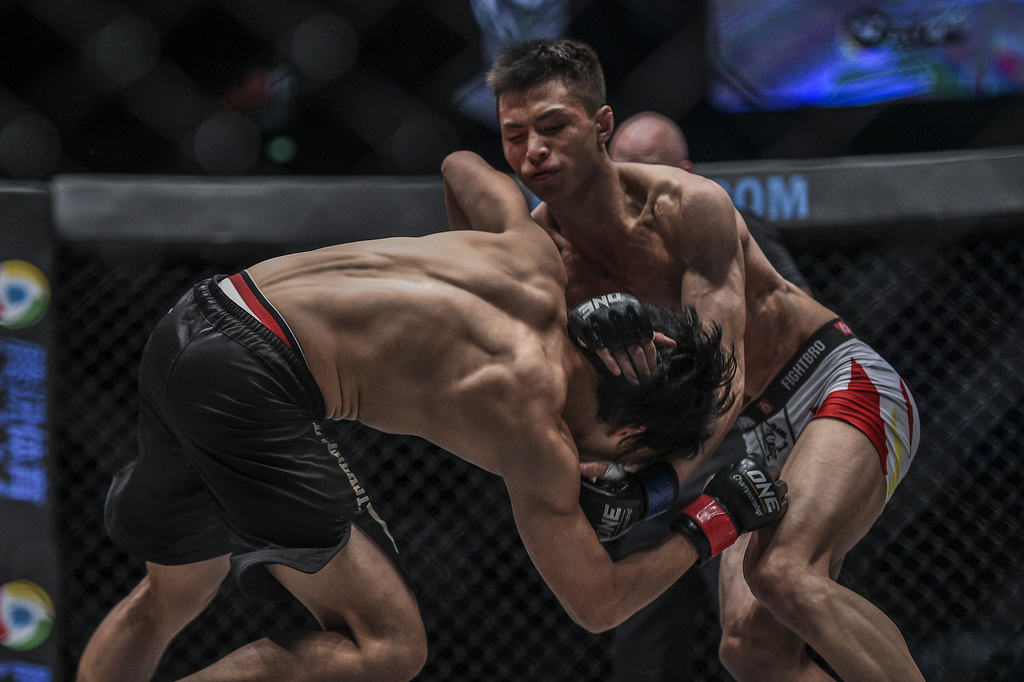 Chinese MMA fighters vow to win more