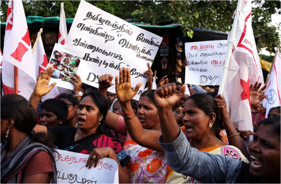 At least nine dead after police fire on protesters seeking closure of Indian copper smelter