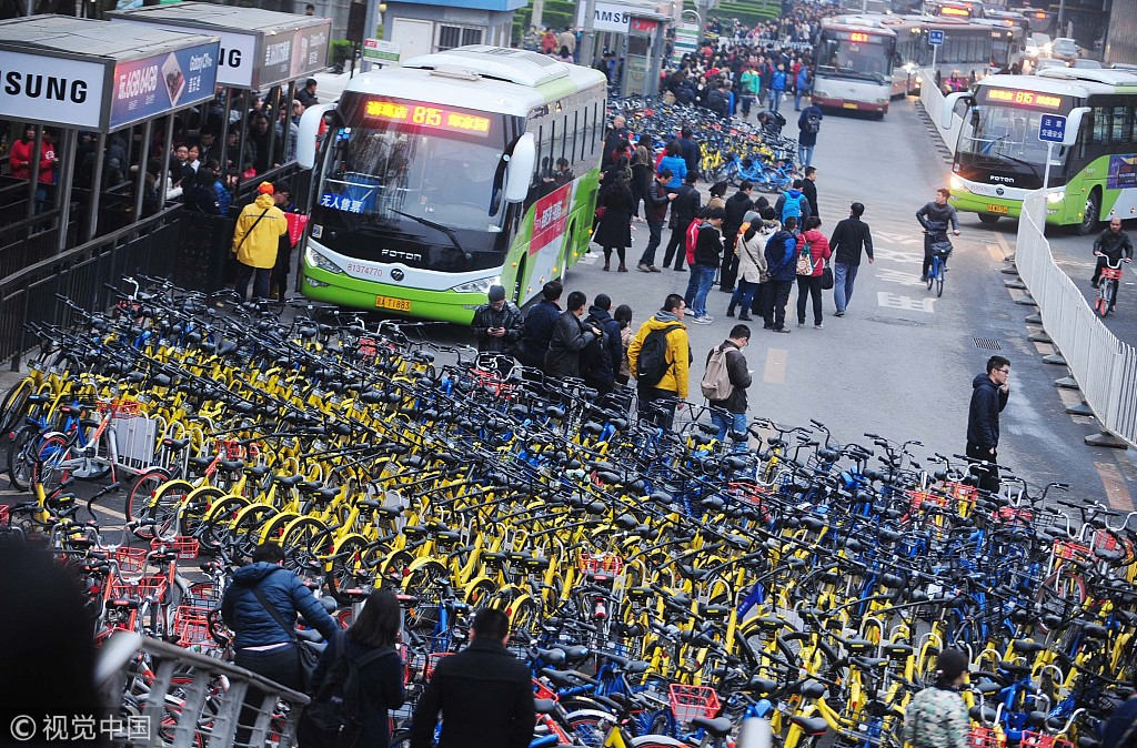 Bike-sharing in Beijing: negative growth is the new trend