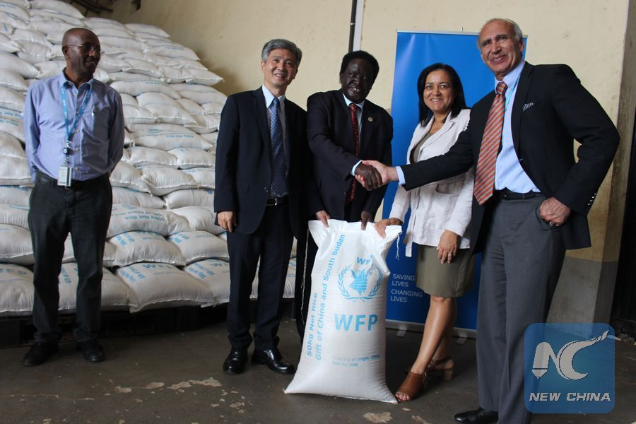 WFP lauds China's food aid to South Sudan