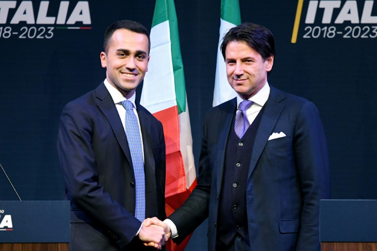 Italy's PM candidate arrives for talks with president