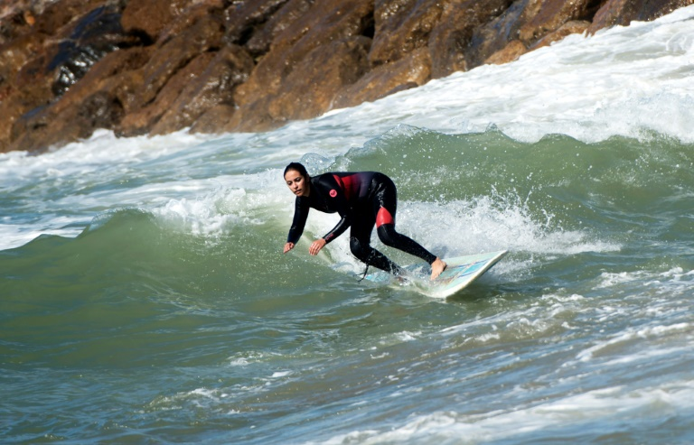 Morocco's women surfers ride out waves and harassment