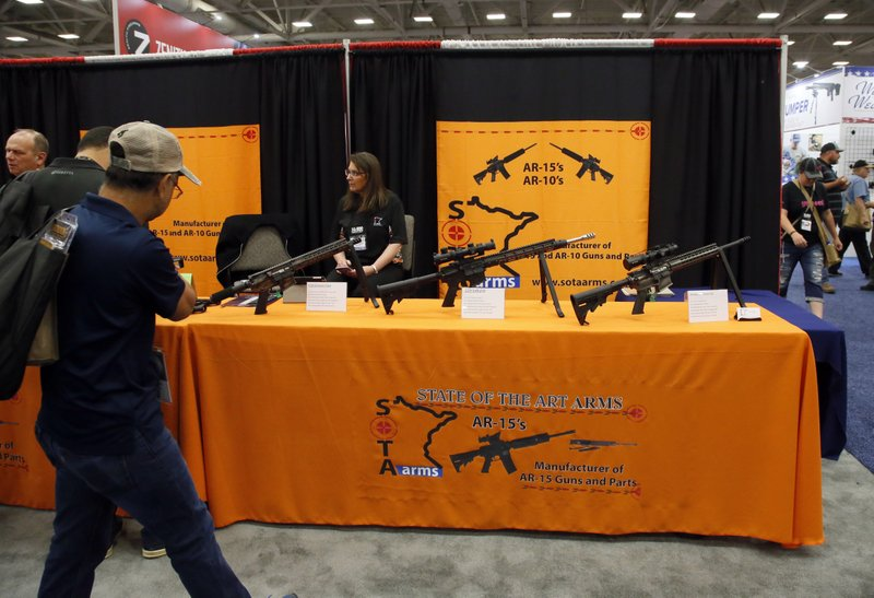 After mass shootings, NRA pins blame on familiar list