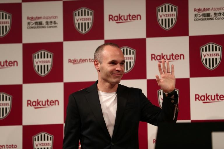 Barcelona icon Iniesta joins Vissel Kobe in historic Japan deal
