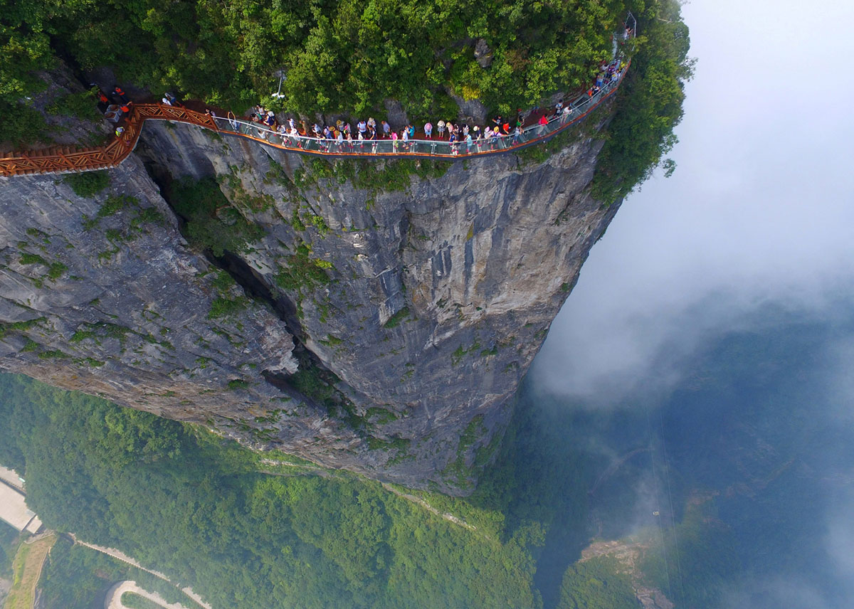 China viewed from above: Impressing images of China