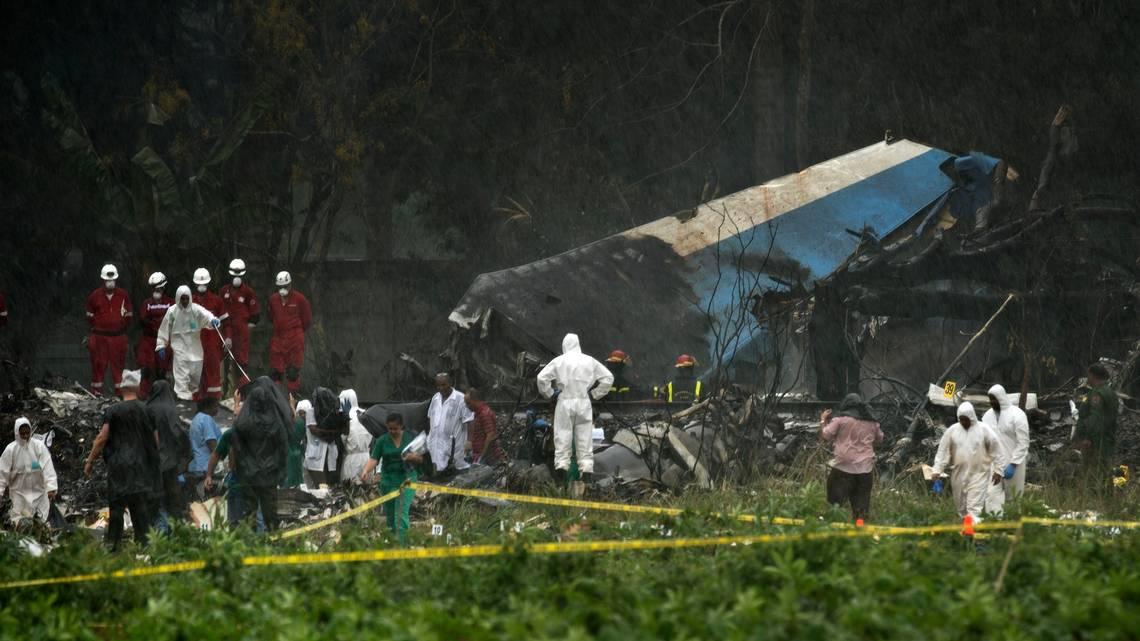 Second woman survivor of plane crash dies in Havana