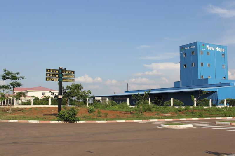 老挝万象赛色塔综合开发区园区内的企业和厂房.JPG