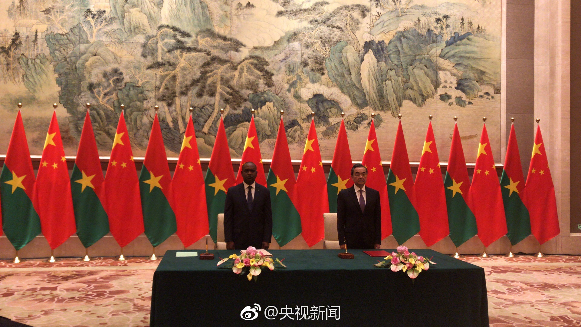 China, Burkina Faso resume diplomatic ties