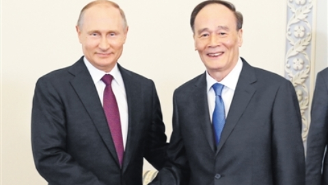 Spotlight: Chinese vice president pushes for closer partnership with Russia
