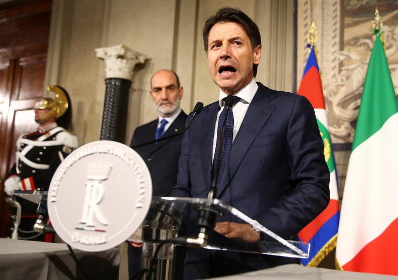 Italy's PM-designate gives up on forming government, may mean new election