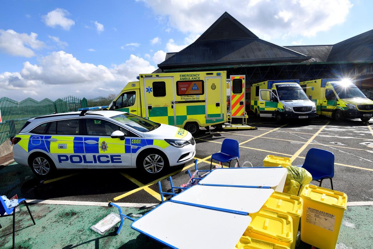 Image result for skripal ambulances reuters