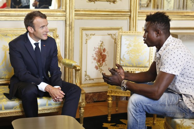 Malian migrant to be made French citizen