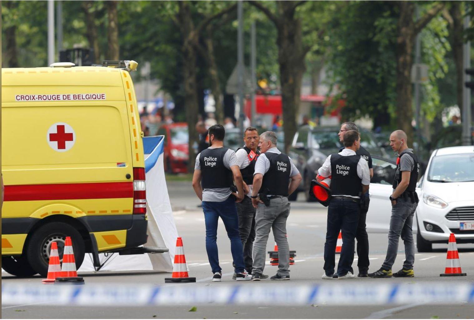 Attacker kills 2 police and 1 civilian in Belgium shooting
