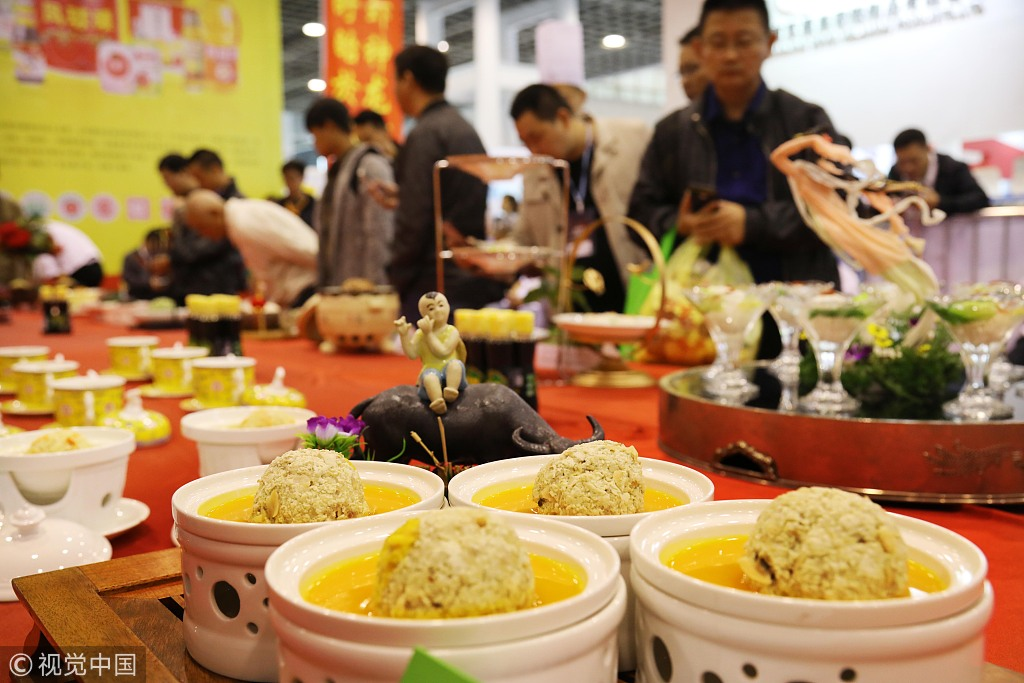China's catering market to exceed 4 trln yuan in 2018