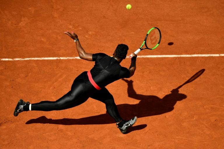 Serena keeps 'Black Panther' catsuit despite questions