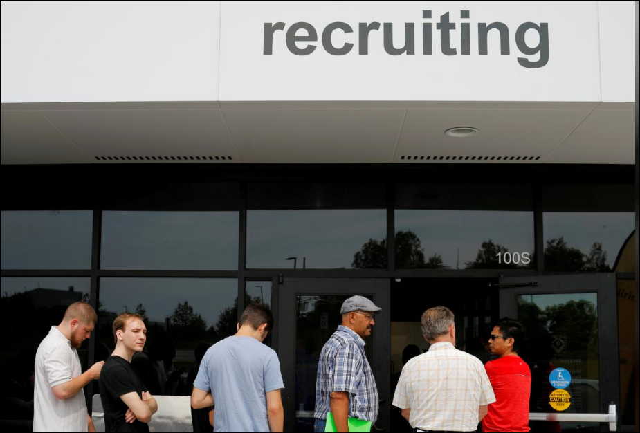 US job growth surges, unemployment rate falls to 3.8 percent