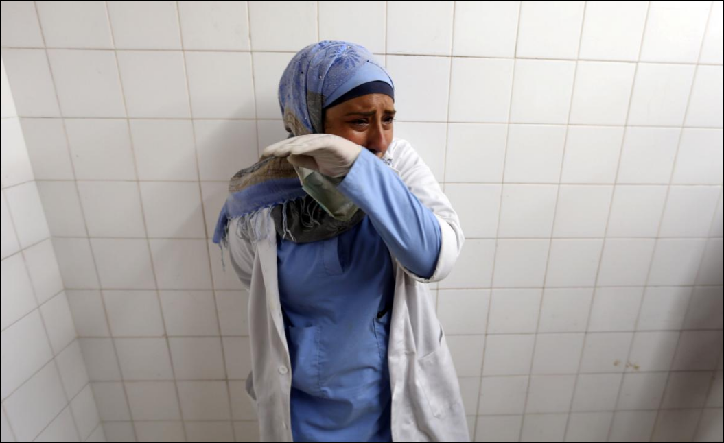 Israeli army kills Palestinian nurse in Gaza border protest: medics
