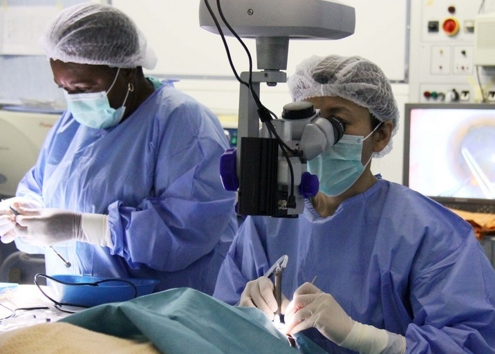Chinese medical team provides free eye treatment to Madagascar's patients