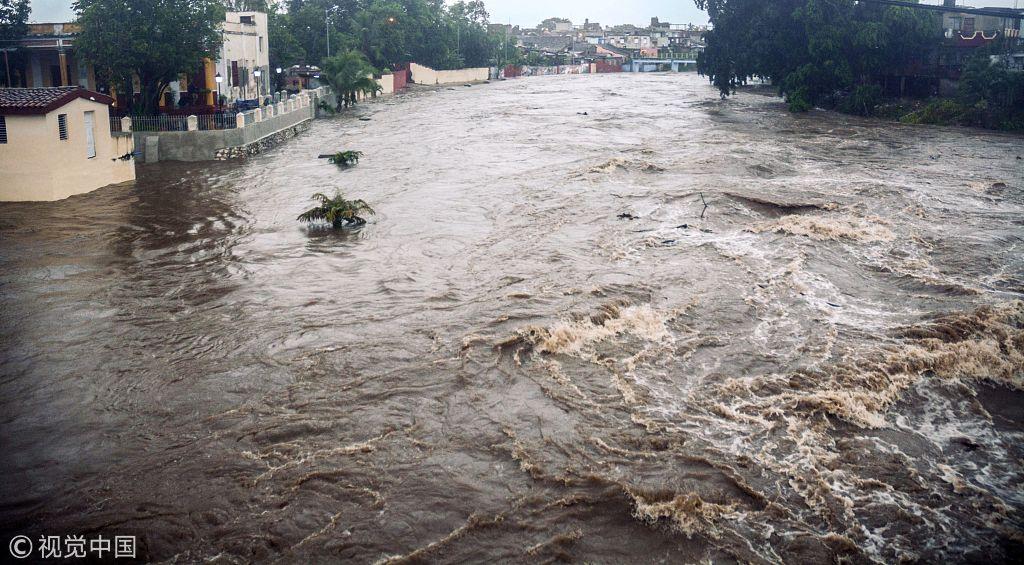 7 dead, 2 missing in Cuba after heavy rains, floods