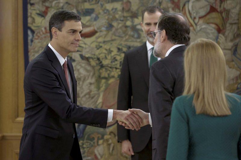Sworn in as Spain's leader, Sanchez faces Catalan conundrum