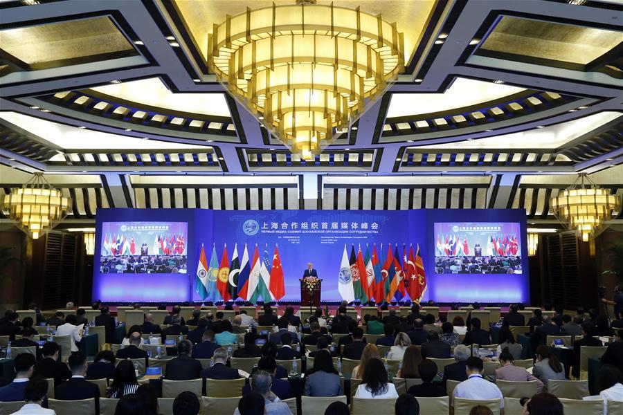 """""""Shanghai Spirit"""" hailed at SCO media summit"""
