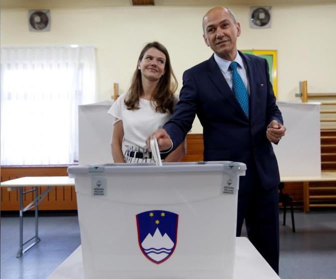 Anti-immigrant party tipped to win as Slovenia votes