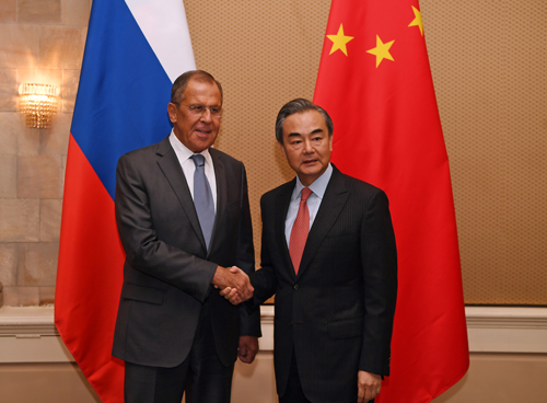 Russian president's upcoming visit is of great significance: Chinese FM
