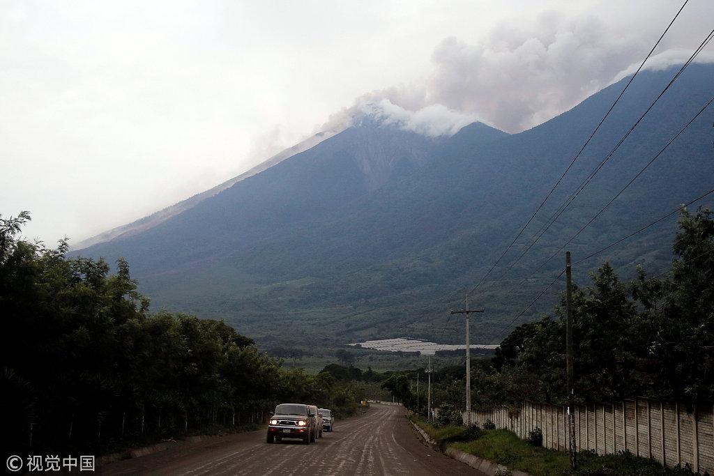 Nearly 300 injured in Guatemala's Fuego volcano eruption