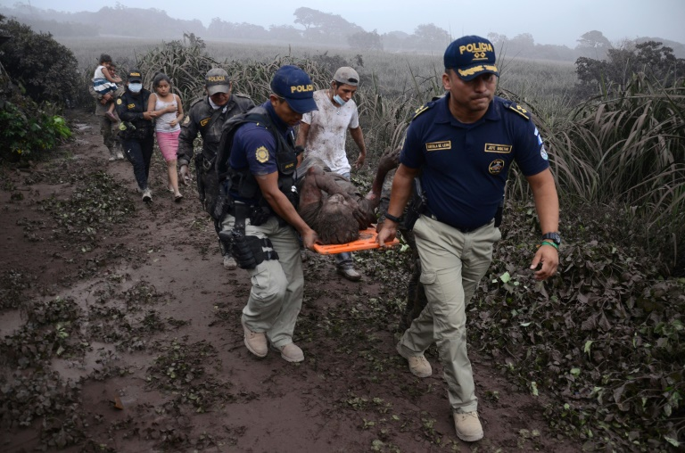 Search for missing after Guatemala volcano kills 25