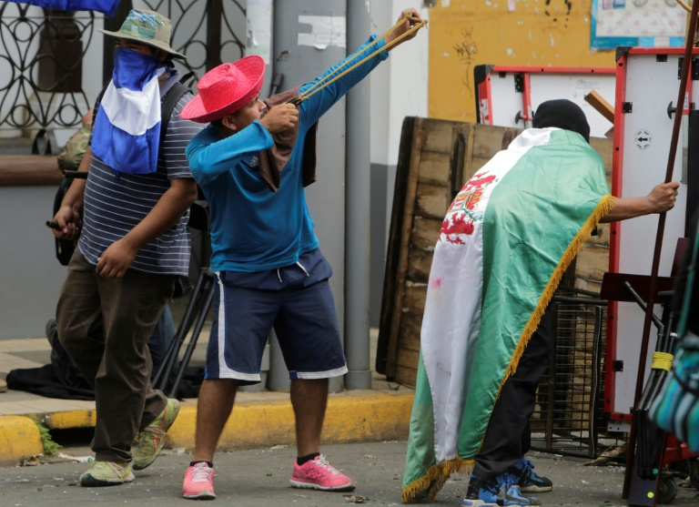 Night of terror leaves 5 dead in Nicaragua protests