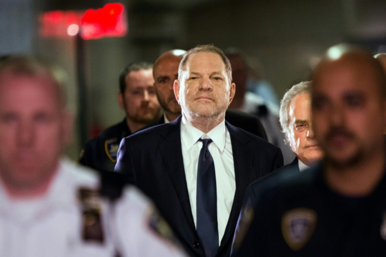 Weinstein pleads not guilty to rape, sex assault charges