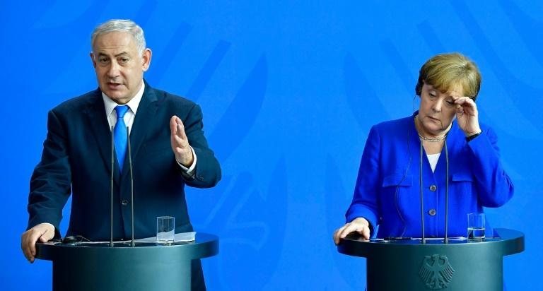 Netanyahu warns Merkel of new refugee crisis sparked by Iran