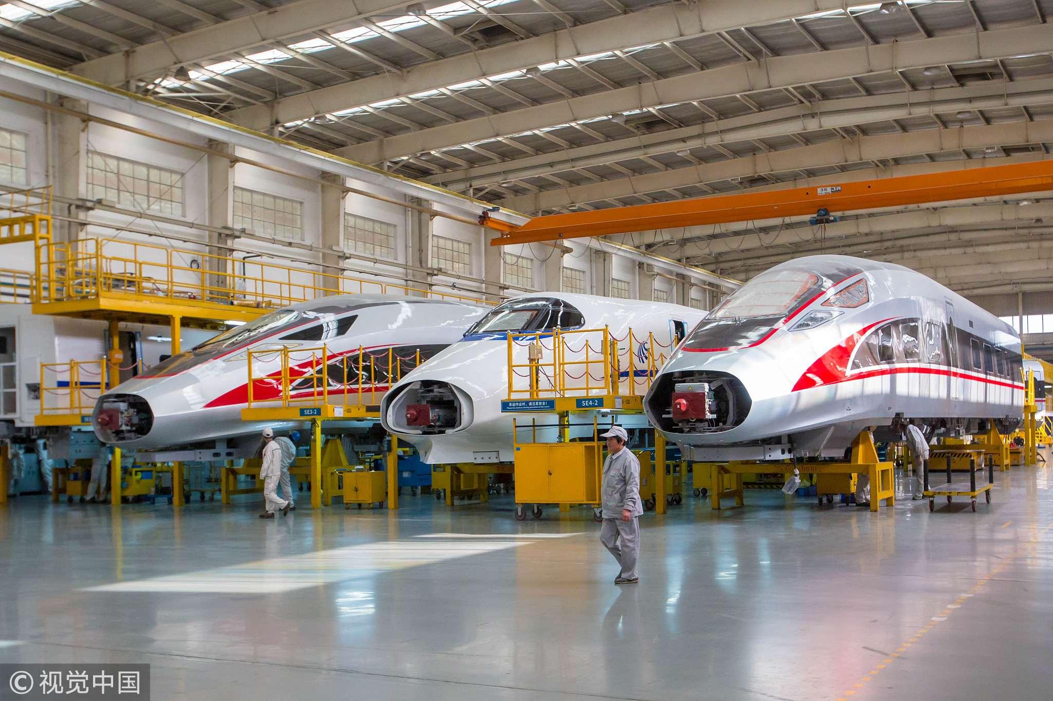 Full steam ahead: China drives tech push in high-speed rail