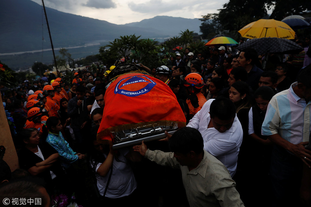 Death toll from Guatemala volcano rises to 69