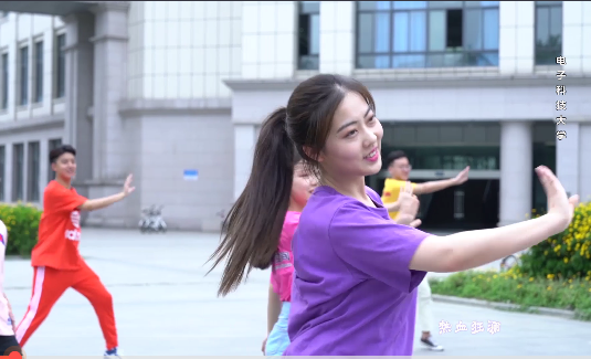 Video: Students from 20 Chinese universities dance to cheer on gaokao examinees