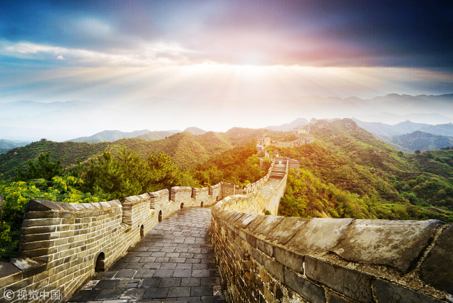 File photo of the  Great Wall. [Photo: VCG]