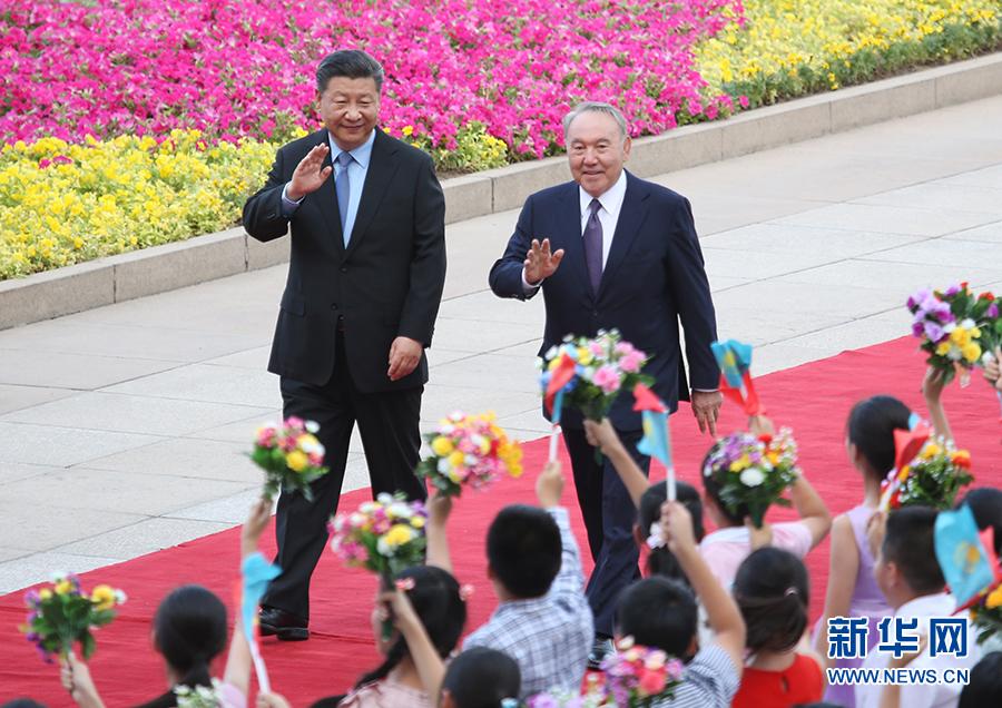 China, Kazakhstan agree to work together for national rejuvenation