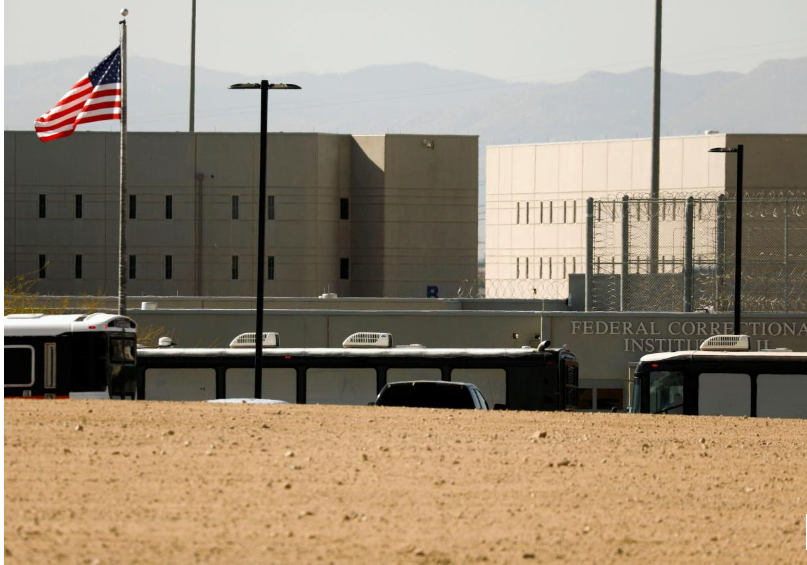 US Democrats blast use of federal prisons to house detained immigrants