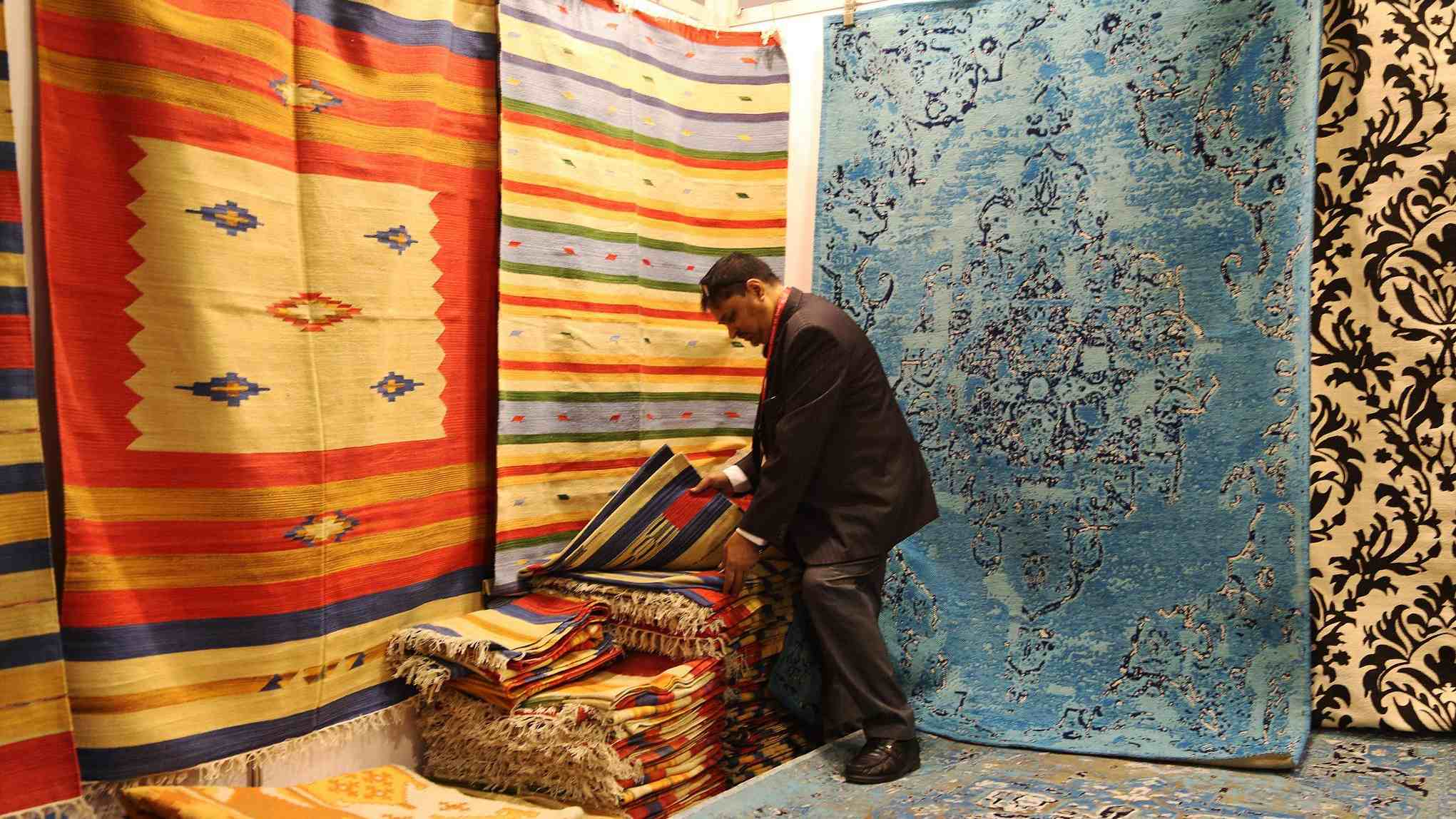 Int'l carpet fair concludes in Qinghai